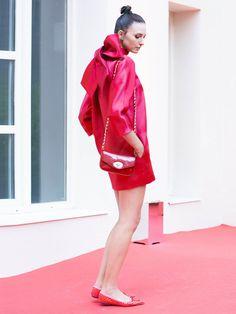 Dress THE 2nd SKIN & Co. Bag URSULA MASCARÓ. Shoes PRETTY BALLERINAS