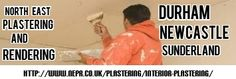 North east Plastering and Rendering covering the Durham - Sunderland and Newcastle Area. http://www.nepr.co.uk/plastering/interior-plastering/