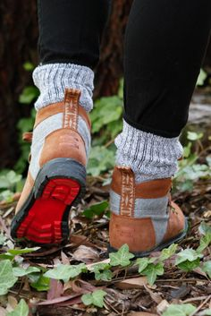 Sturdy, reliable, warm. These rawhide suede and grey wool TOMS Summit Boots will keep you covered on and off the trails.