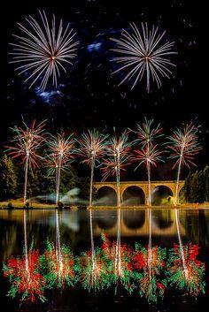 Fireworks by metrisk, via Flickr