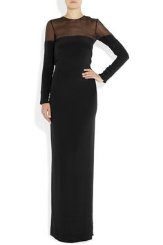 Azzaro - Maggie organza and crepe gown Lovely Dresses, Formal Dresses, Azzaro, Discount Designer Clothes, Black Tie, Clothes For Sale, High Fashion, Style Inspiration, Gowns
