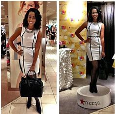 #TASHIModel BJ Gianni styled by Tavaris (@itshym) for the #Macys Launch Party for #spanxinc Star Power Collection.