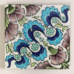 William de Morgan tile Cooper Hewitt