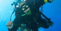 The world's deepest diving