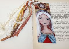 Saint Julian Laminated Bookmark Handmade by FlorLarios on Etsy