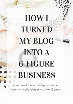Click here to learn the exact framework I used to turn my hobby blog into a thriving 6-figure business in less than 2 years.
