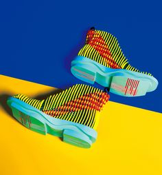 Layered 3D Footwear Designs by Chengxu Tian