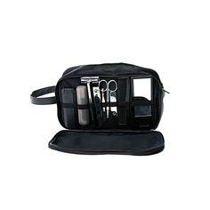 El regalo ideal para el viajero frecuente,  completo con todas las herramientas para mantener un aspecto tranquilo y con estilo.