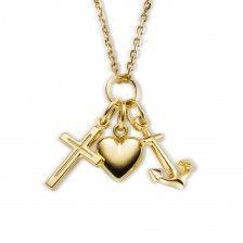 """Halskette """"Glaube, Liebe, Hoffnung"""""""