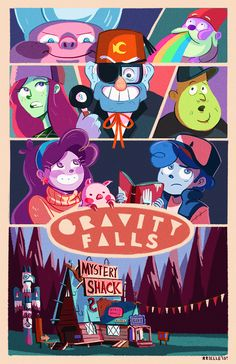Gravity Falls: A strange little cartoon in the tradition of the mysterious and supernatural