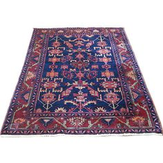 Contents Limited - Persian Handmade Rug - 1stdibs ❤ liked on Polyvore featuring home, rugs, flooring, persian style area rugs, persian style rugs, handmade persian rugs, handmade area rugs and handmade rugs