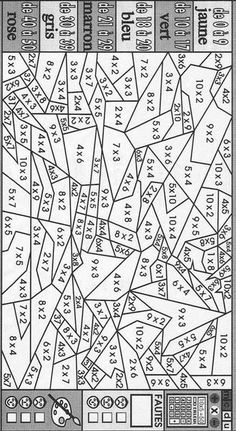 Multiplication Coloring Sheets multiplication color number free printable coloring pages Multiplication Coloring Sheets. Here is Multiplication Coloring Sheets for you. Multiplication Coloring Sheets coloring pages math app triple snowflak. Math College, Math Multiplication, Third Grade Math, Math Practices, Math Numbers, Color By Numbers, Homeschool Math, Homeschooling, Math Facts