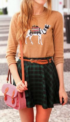 Cute camel sweater. My 2nd grade teacher was obsessed with camels so this just hit a sweet spot -xo
