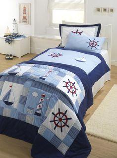 Kids Nautical Bedding - Top Home Design - 52