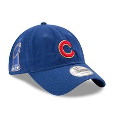 Chicago Cubs New Era 2017 Gold Program World Series Champions Commemorative 9TWENTY Adjustable Hat - Royal - $25.99