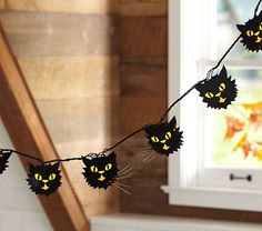 Cat Shaped String Lights.  These rock.