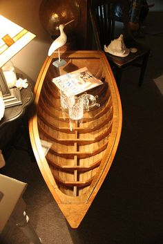 Great boat coffee table-SOLD | Flickr - Photo Sharing! @Marsha Garcia -I would love one for a cabin ;).