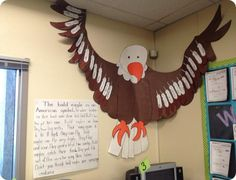 Downloadable American Eagle Cut and Paste Art Activity for Bulletin ...