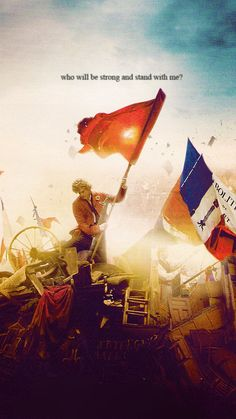 Beyond the barricade is there a world you long to see? Then join in the fight that will give you the right to be freeee!