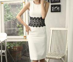 Waist Lace Dress by Secret2Girls