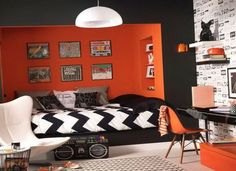 Rock And Roll Bedroom Decor