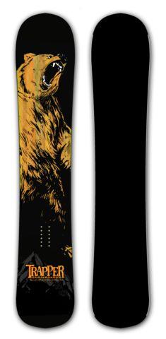 Ursa Major snowboard