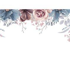 Dusty Blue and Mauve Floral Wedding Guest Book, Flower Background Wallpaper, Flower Backgrounds, Background Patterns, Wallpaper Backgrounds, Wallpapers, Mauve Wedding, Dusty Blue Weddings, Floral Prints, Art Prints