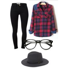 A fashion look from November 2014 featuring Frame Denim jeans and With Love From CA hats. Browse and shop related looks.