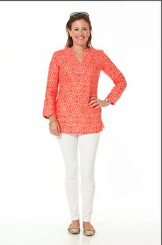 fd9e4f225b5 Shady Days Top (available in Shell Pink Dubarry or Bright White Dazzli –