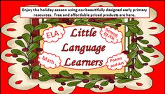 Little Language Learners offers beautifully designed resources for the early primary grades. Come on in and see detailed units and amazing freebies.  Resources for ELL newcomers K-5 are also available.