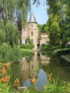 Chateau de l'Arboretum de Balaine, Auvergne, France