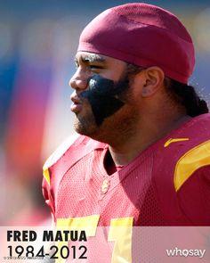 RIP Fred Matua 1984-2012 gone too soon