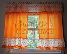 Home decoration is one of the most important elements that help you to define the… Long Curtains, Valance Curtains, Shabby Vintage, Vintage Items, Vintage Kitchen Curtains, Cottage Curtains, Chenille Bedspread, Cozy Cottage, Square Quilt