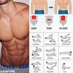"7,909 Me gusta, 24 comentarios - GYM EDUCATION (@gym.education) en Instagram: ""Great Abs Workout for guys Like and Save this for when you later need it - credit : @gaintips"""