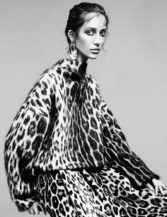 Alana Zimmer by Alique for Vogue Nederland October 2014