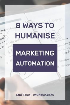 8 ways to humanise marketing automation: Often we get so caught up in automating our business processes that we forget there are real human beings at the receiving end. Marketing Automation, Marketing Pdf, Social Media Automation, Online Marketing Strategies, Digital Marketing Strategy, Facebook Marketing, Marketing Tools, Business Marketing, Online Business