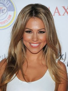might do this with my hair...dark honey blonde hair