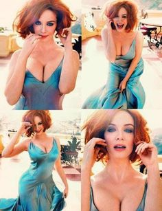 Christina Hendricks Finds A Ra... is listed (or ranked) 1 on the list 38 Sexiest Christina Hendricks Pictures