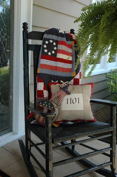 <3 this idea house number front porch pillow..