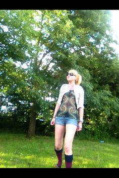 Kathryn ready for Glastonbury
