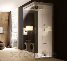 #bathroom #bath #shower #showerroom #tub #sink #washbawl #tap #fauset #interior #design #designidea #home   Душевая кабина Treesse Spa+Home, idea_83x90