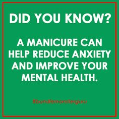 #Manicures solve everything. Just a #funfact from the #BundleMonsterGuru for…