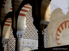 Great Mosque-Cathedral of Cordoba, Spain, also called the Mezquita