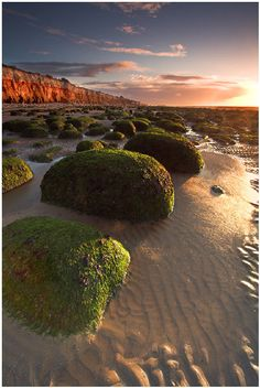 """North of the modern town centre in Old Hunstanton find the gorgeous banded… Norfolk Beach, Norfolk Coast, Norfolk England, British Seaside, British Isles, Ireland Landscape, Slow Travel, Sense Of Place, England And Scotland"