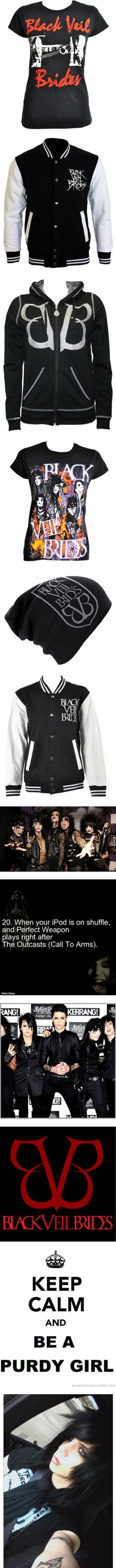 """Black Veil Brides Stuff 3"" by escapethefate07 ❤ liked on Polyvore"