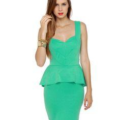 Wear in the world, mint dress from lulus.com, $40
