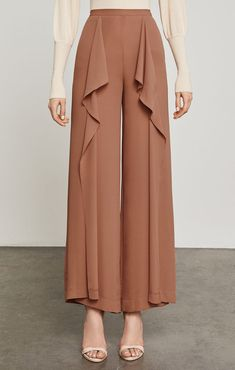Shop the latest fashion clothes for women at BCBG. From blouses and tees, to skirts, pants and jumpsuits, you're sure to find the best selection of women's clothing! Modest Fashion, Latest Fashion Clothes, Fashion Dresses, Fashion Styles, Trendy Fashion, Fashion Pants, Hijab Fashion, Corset Sewing Pattern, Pants For Women