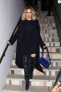 Khloé Kardashian à l'issue de la soirée de lancement de la marque Ouai à Los Angeles. Le 4 février 2016.