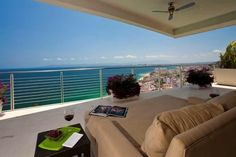 This double #penthouse is sure please. With stunning #ocean and #city views of the #OldTown / #ZonaRomantica area in #PuertoVallarta; this unit can't be missed.