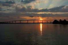 Sunset at Solomon's Island, MD